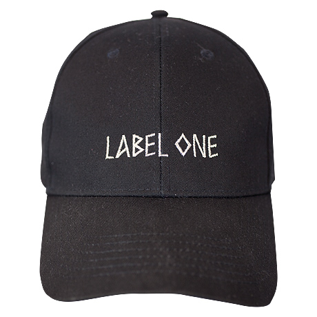 CAP Labelone Schwarz