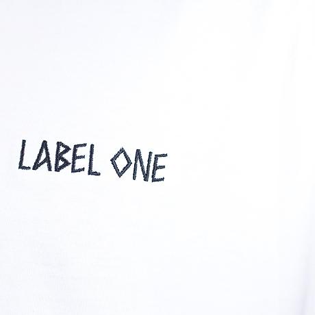 T-Shirt Labelone Weiß