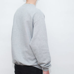 Sweat Shirt Crewneck Grau meliert