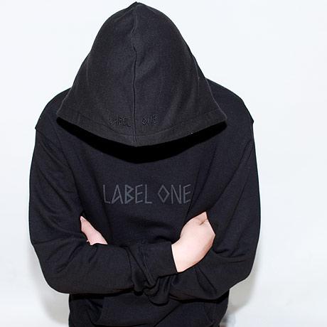 Hoodie mit Kapuze schwarz