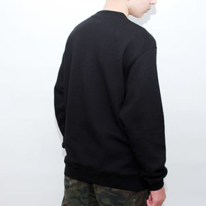 Sweat Shirt Crewneck Schwarz