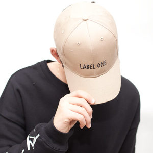 LABEL ONE® CAP Beige
