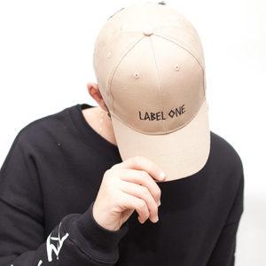 LABEL ONE® CAP Beige