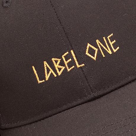 """CAP LABEL ONE """"GOLDEN LABEL"""""""