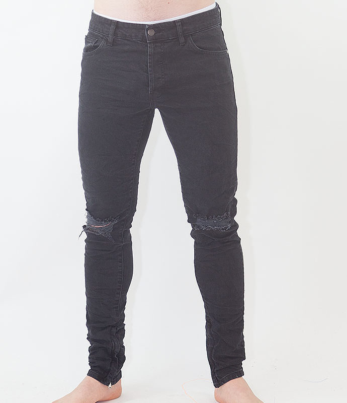 "LABEL ONE JEANS ""TWO"" BLACK"