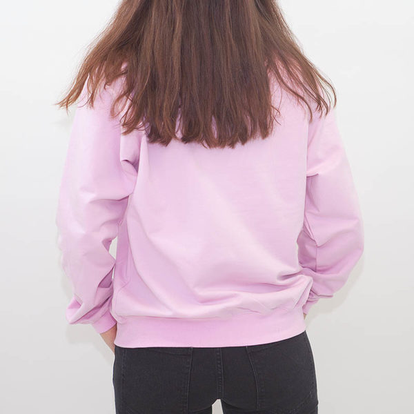 "LABEL ONE Sweater ""ONE"" ROSE"
