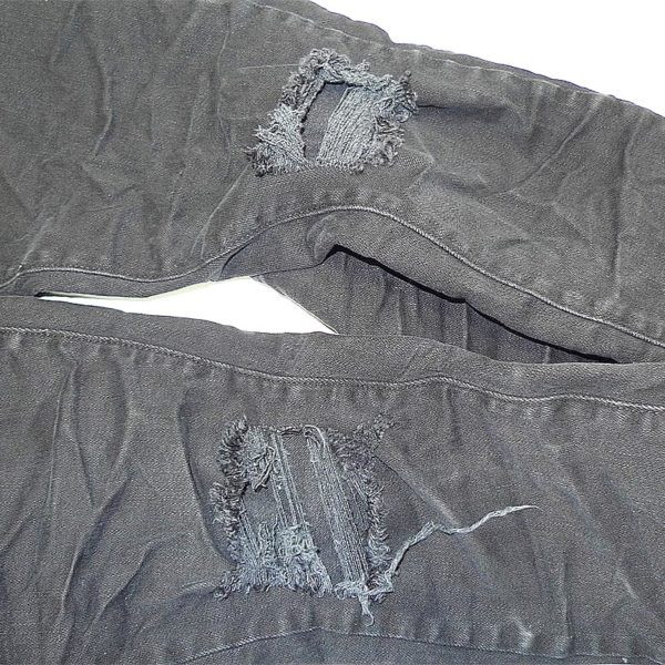 """LABEL ONE JEANS """"TWO"""" BLACK"""
