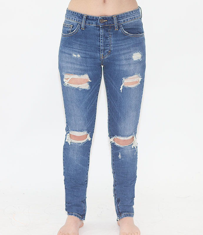 "JEANS ""ONE"" BLUE woman"