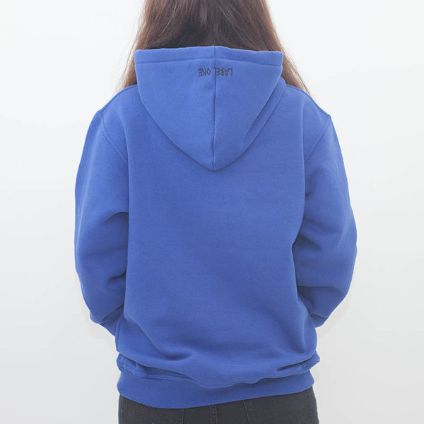 "LABEL ONE Hoodie ""ONE"" ROYAL"