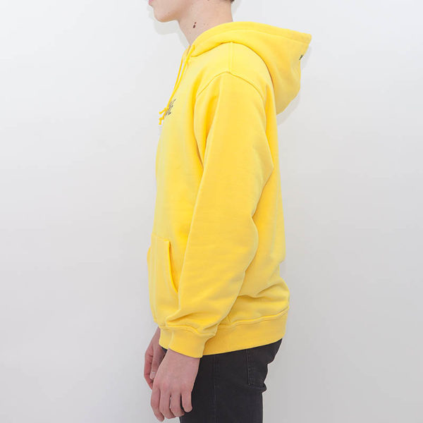 "Hoodie LABEL ONE ""ONE"" YELLOW"