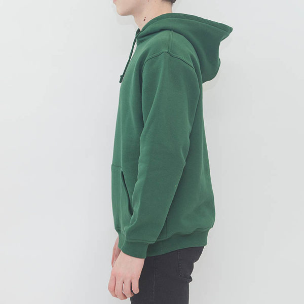 "Hoodie LABEL ONE ""ONE"" GREEN"